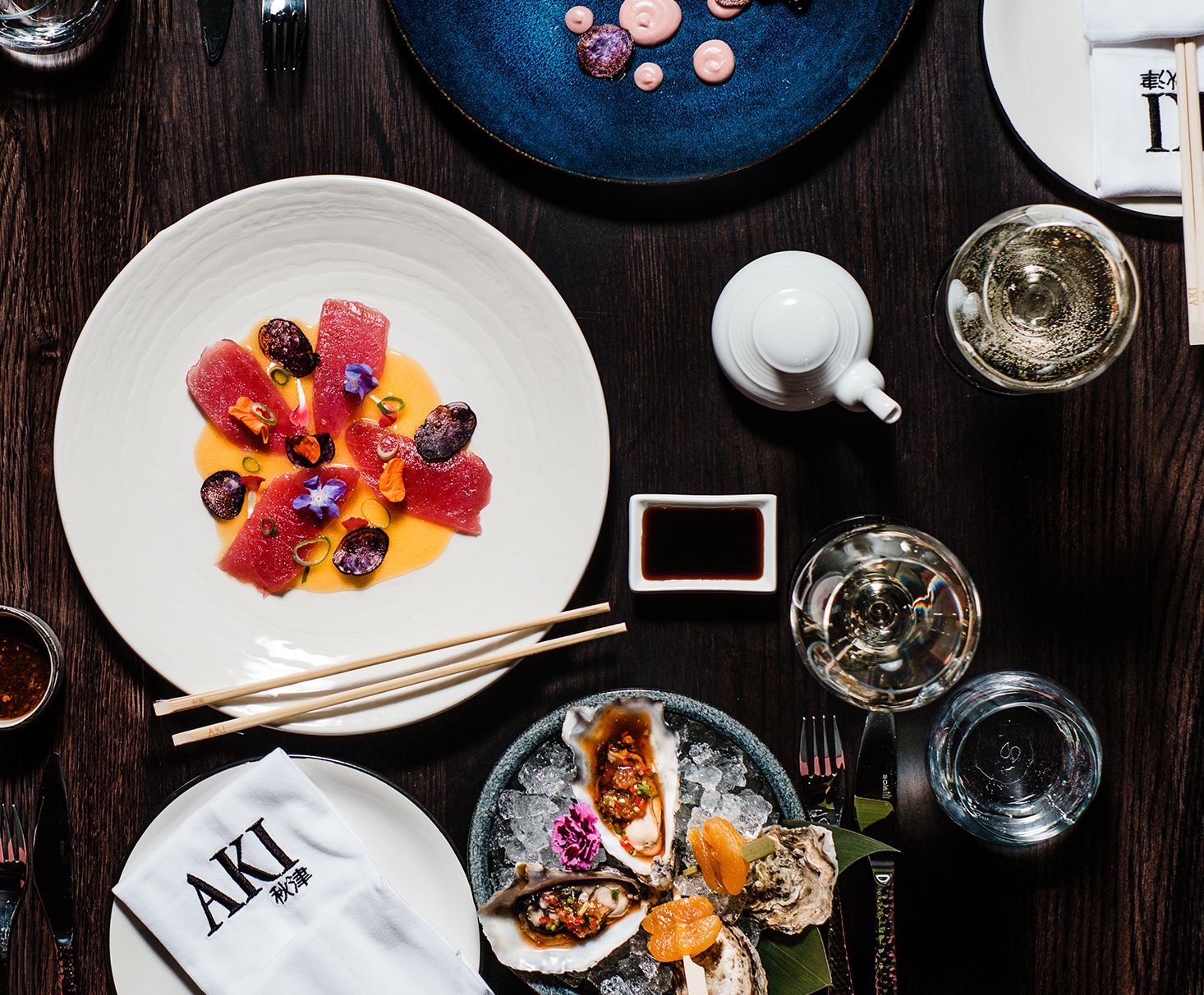 Lunchtime Dining at AKI