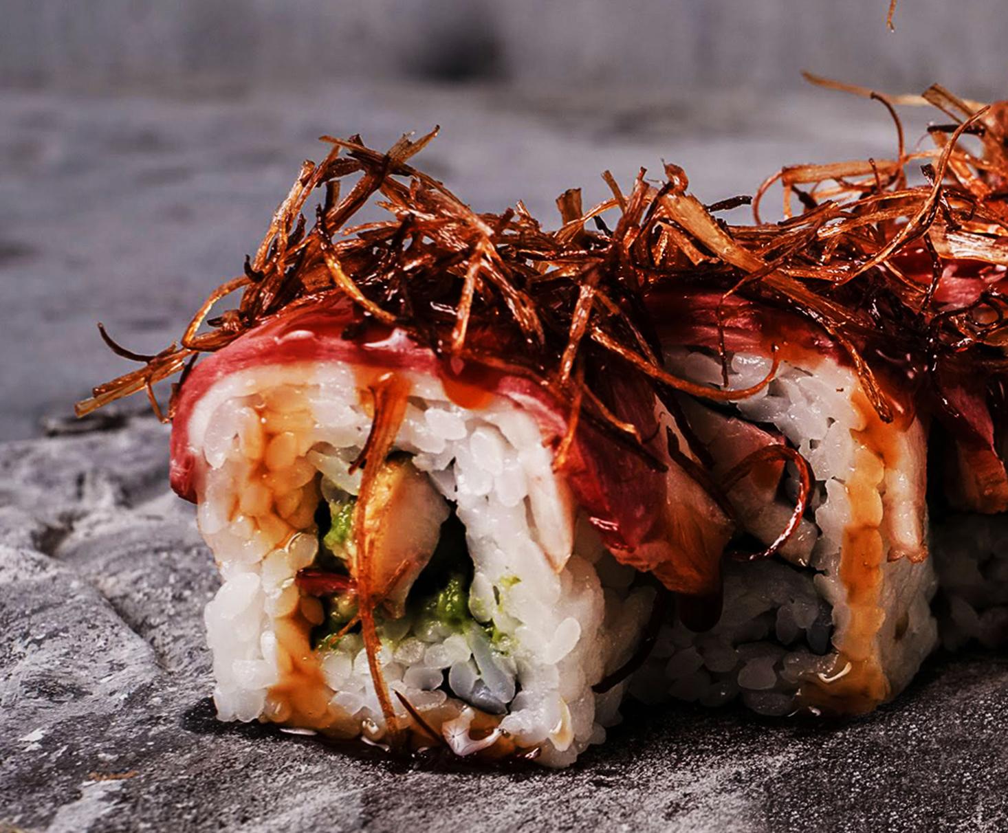 Ahiru Sushi Roll