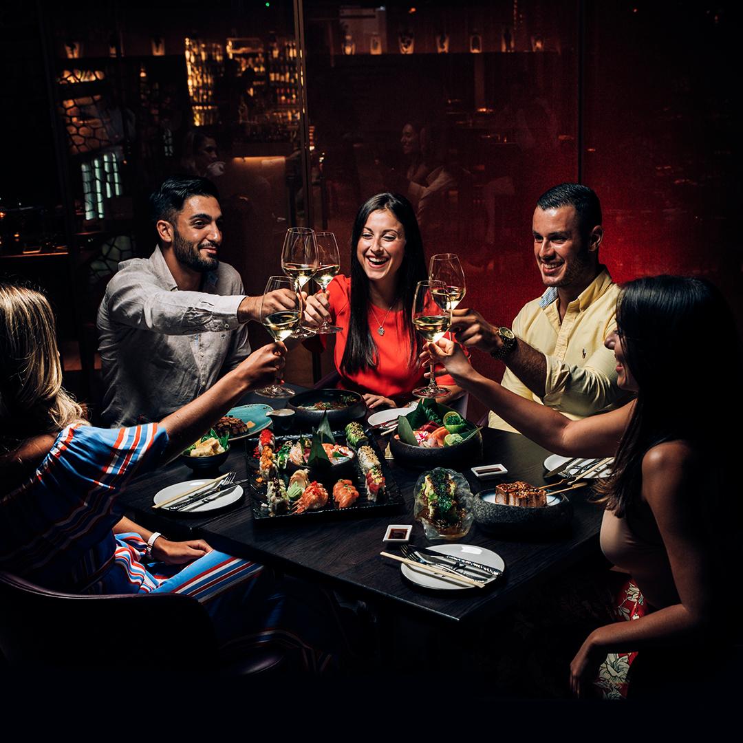 Explore the AKI New Year's Eve menu