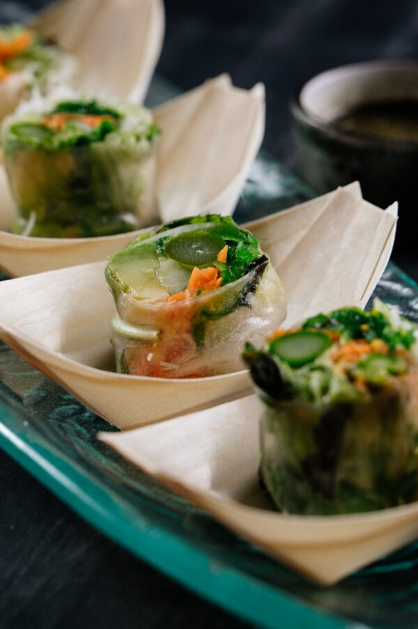Aki Malta Rice Paper Vegetable Rolls