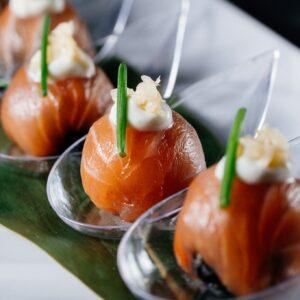 Aki Malta Wasabi Cured Salmon