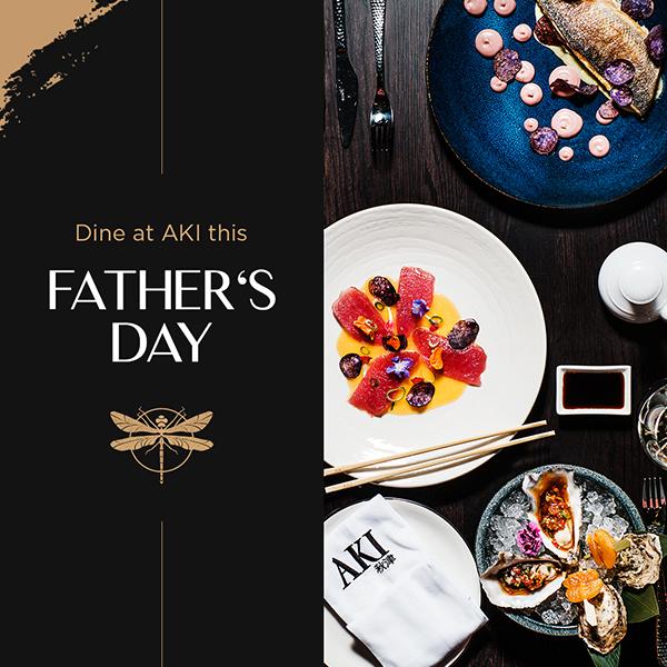 Celebrate Father's Day at AKI