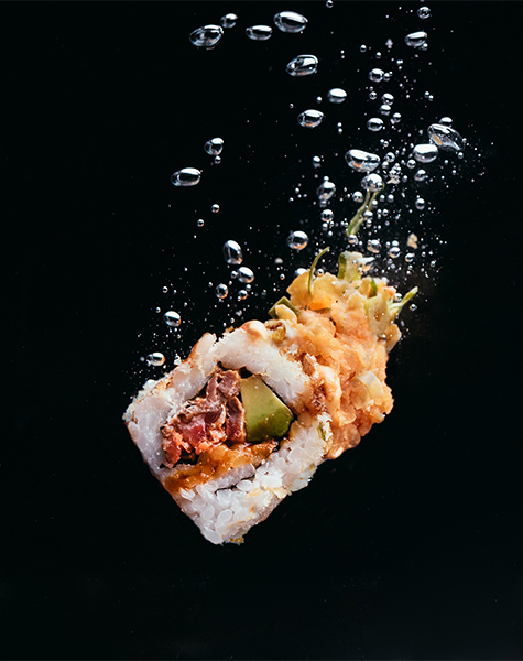 Surf and Turf Sushi