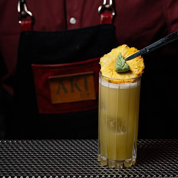 Cocktails at AKI